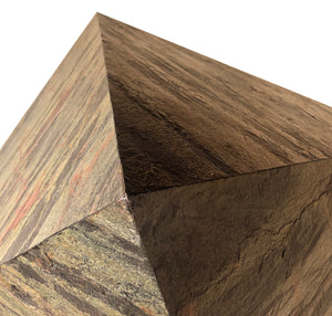Natural Silver Stone Veneer Pyramid for experiment 2 Feet base DIY kit