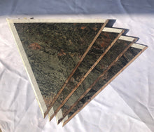画像をギャラリービューアに読み込む, Natural Silver Stone Veneer Pyramid for experiment 2 Feet base DIY kit