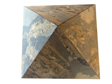 Load image into Gallery viewer, Natural Automin Multi lite Stone Veneer Pyramid for positive vibes 12 Inch