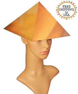 Free shipment to USA Copper Meditation cap Pyramid for Physical healing