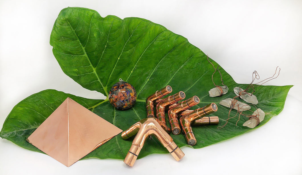 14 mm OD 12 mm 2 mm Thick Giza Copper Meditation Pyramid Connector  United Kingdom