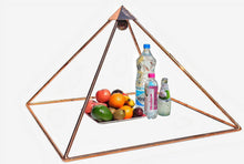 Load image into Gallery viewer, Deluxe Copper 30 Inch base Mini Experiment Giza Pyramid