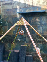 Load image into Gallery viewer, NEW Copper Giza Lite Duty 3 feet Meditation Pyramid for Self Healing