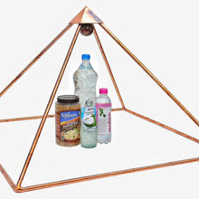 Load image into Gallery viewer, Deluxe Copper 30 Inch base Mini Experiment Giza Pyramid with White Tent