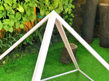Load image into Gallery viewer, Giza Aluminium Meditation Pyramid 6 feet Heavy duty outdoor.