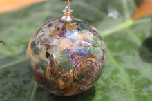 Load image into Gallery viewer, 2 pairs of Seven Chakra Orgon/ Orgonite Sphere Ball 2.5 inch for Self Healing