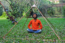 Load image into Gallery viewer, Deluxe Copper Giza Heavy Wight 6 Feet Meditation Pyramid for Self Healing for Out Doors