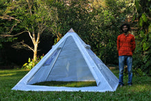 Load image into Gallery viewer, Copper Giza Lite Duty 8 feet Meditation Pyramid for Self Healing with tent
