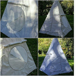 Nubian Aluminium framed Meditation Pyramid 4 Feet base Tent lite weight