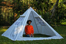 Load image into Gallery viewer, Copper Giza heavy wight 8 feet Meditation Pyramid for Self Healing with tent