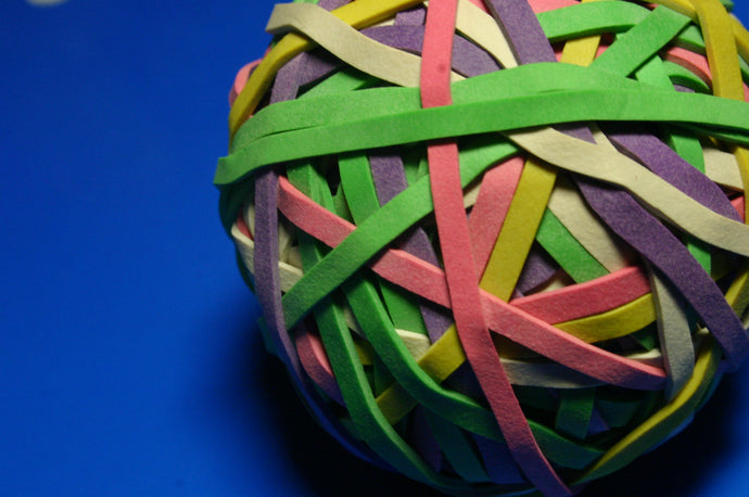 The World's Largest Rubber Band Ball is HOW BIG?