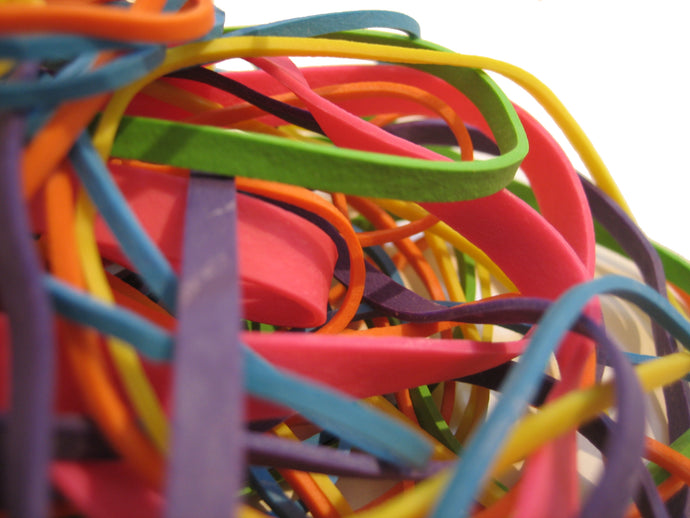 Rubber Bands: What REALLY happens when you shoot a rubber band?