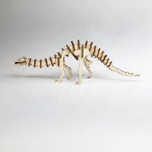 Load image into Gallery viewer, Diplodocus 3D Wood Puzzle Kit - DIY