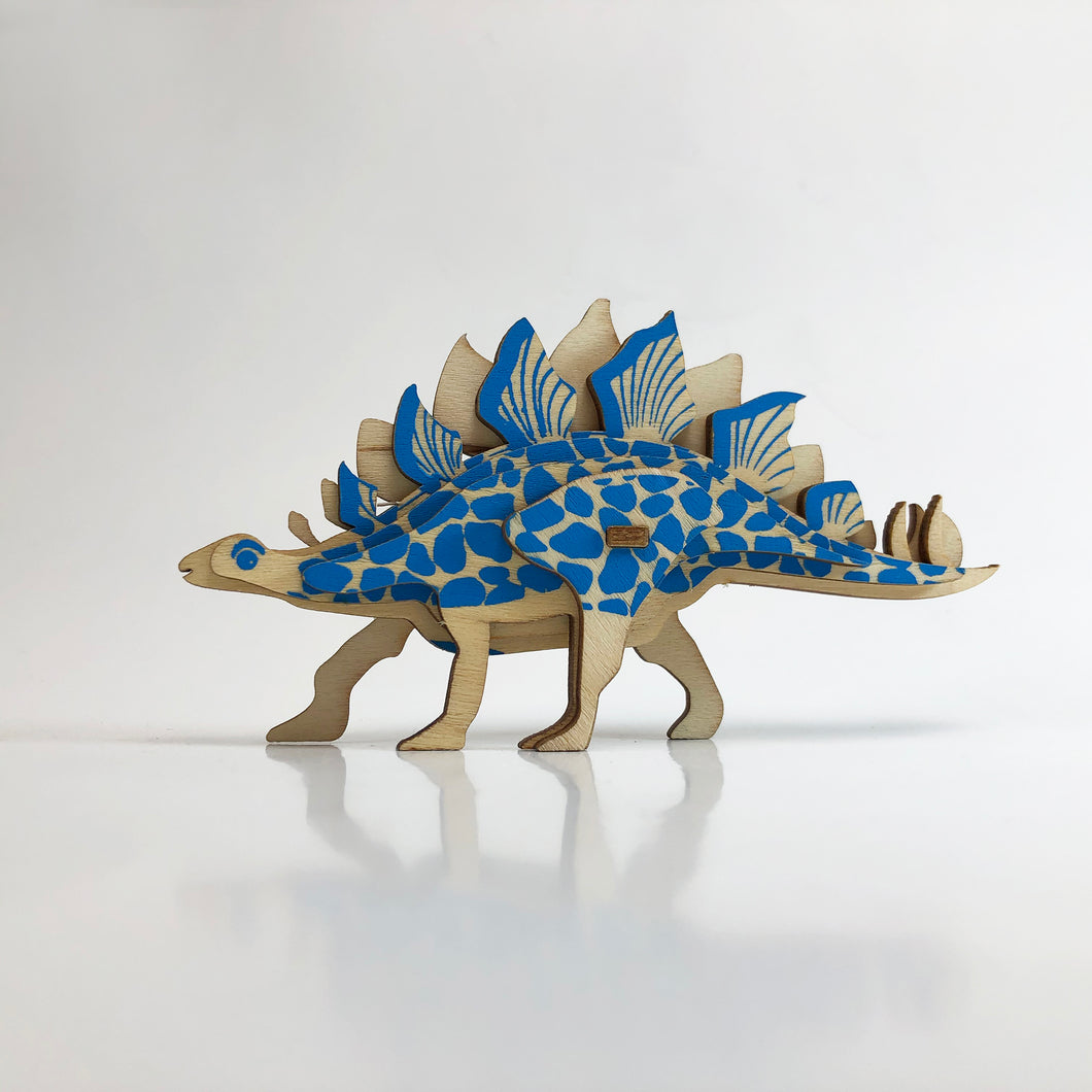 Stegosaurus 3D Wood Puzzle Kit - DIY