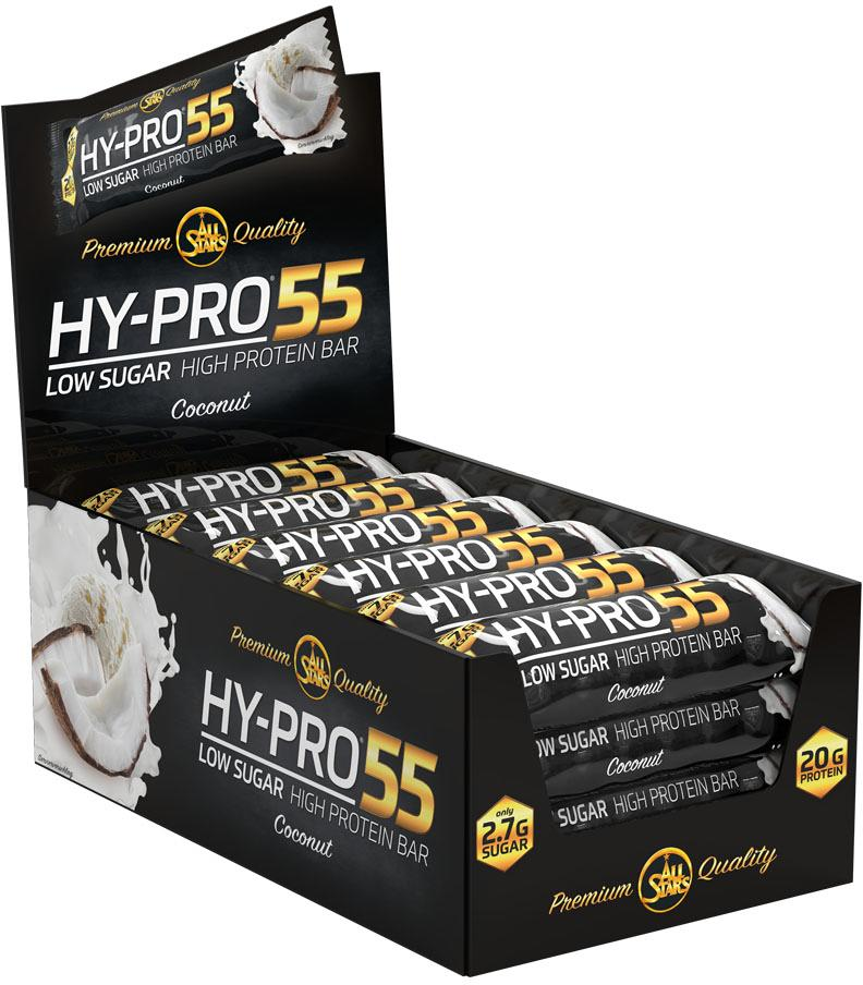All Stars Hy-Pro 55 Bar, 24 x 55 g Riegel