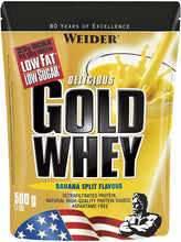 Laden Sie das Bild in den Galerie-Viewer, Joe Weider Gold Whey, 500 g Standbeutel