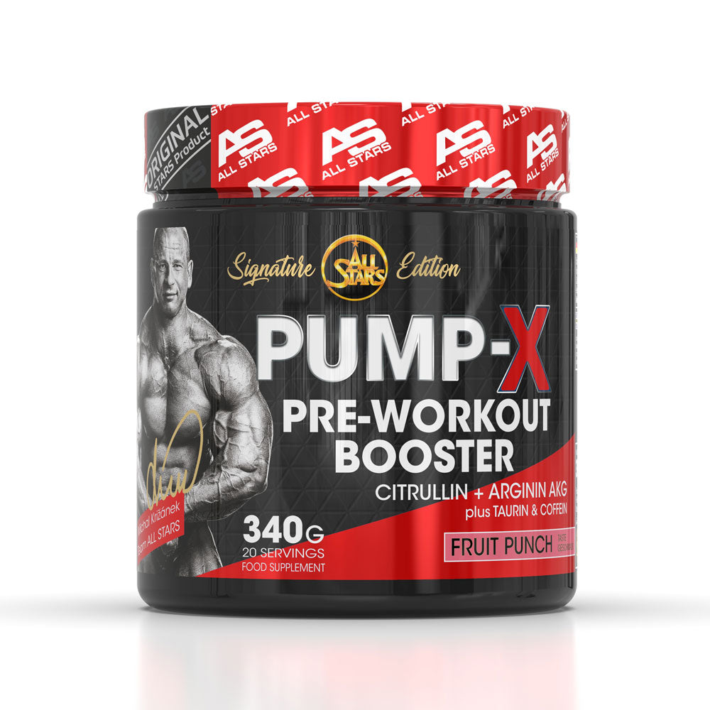 All Stars Pump-X, 340 g Dose, Fruit Punch