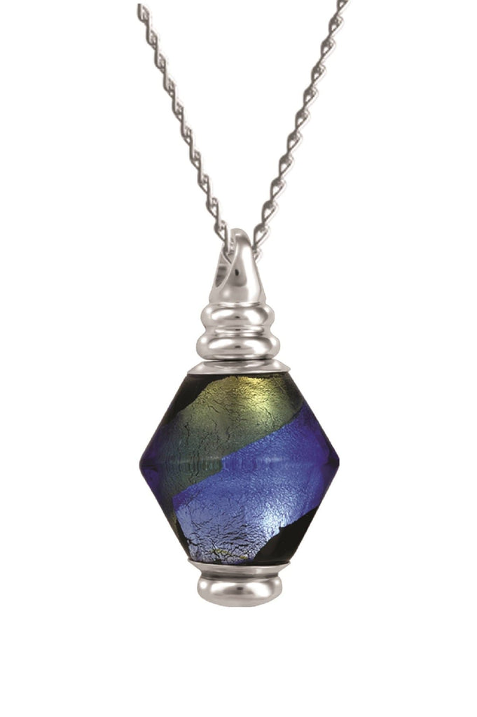 Cara Keepsakes Murano Glass Pendant Urns Murano Glass Pendant Urn - 'Peaceful Waters'