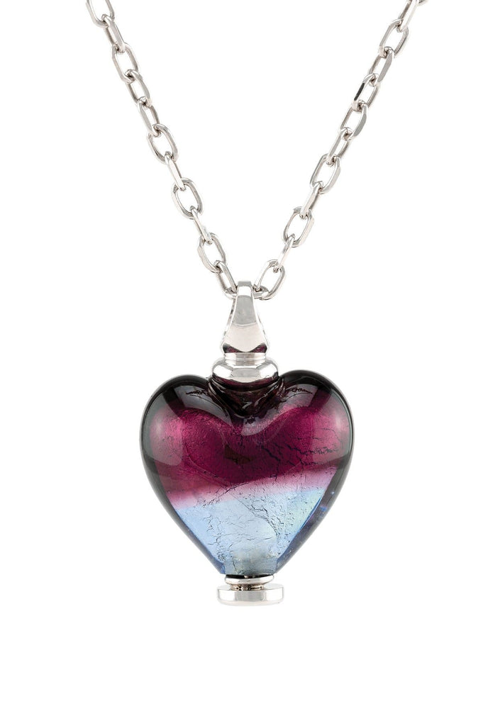 Cara Keepsakes Murano Glass Heart Urn - 'Joyful Hope'