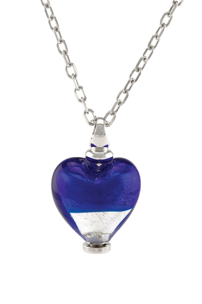 Cara Keepsakes Murano Glass Heart Urn - 'Peace and Harmony'
