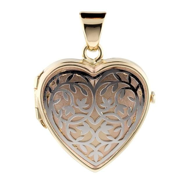 Cara Keepsakes Gold Locket Urns 'Heirloom' Locket Urn (10K)