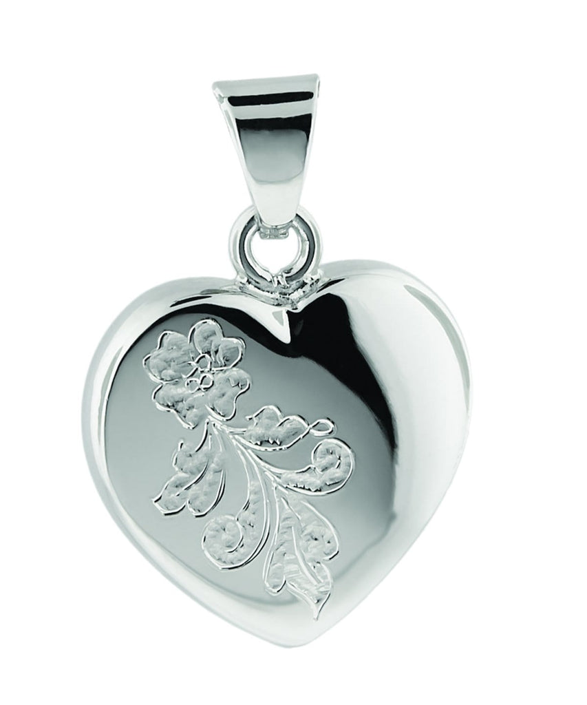 Cara Keepsakes Silver Locket Urns 'Forget Me Not' PendantUrn