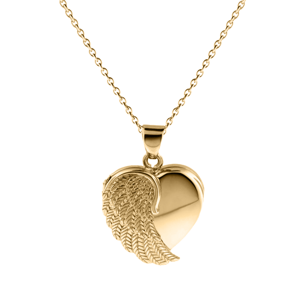 Cara Keepsakes Gold Angel Wing Pendant Charm