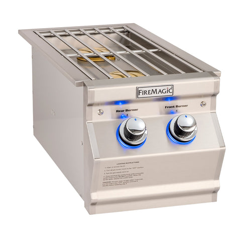 Fire Magic Aurora Propane Gas Built-In Double Side Burner - 32817P