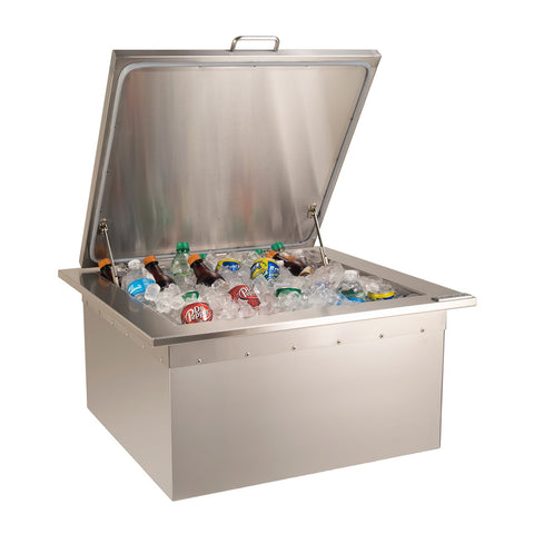 Fire Magic 25-Inch Drop-In Refreshment Center w/ Removable Insulated Lid - 33596