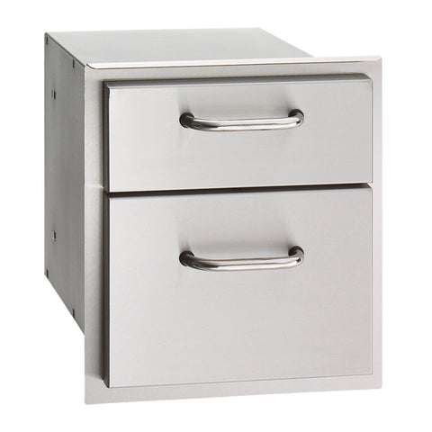 Fire Magic Select 14-Inch Double Storage Drawers - 33802