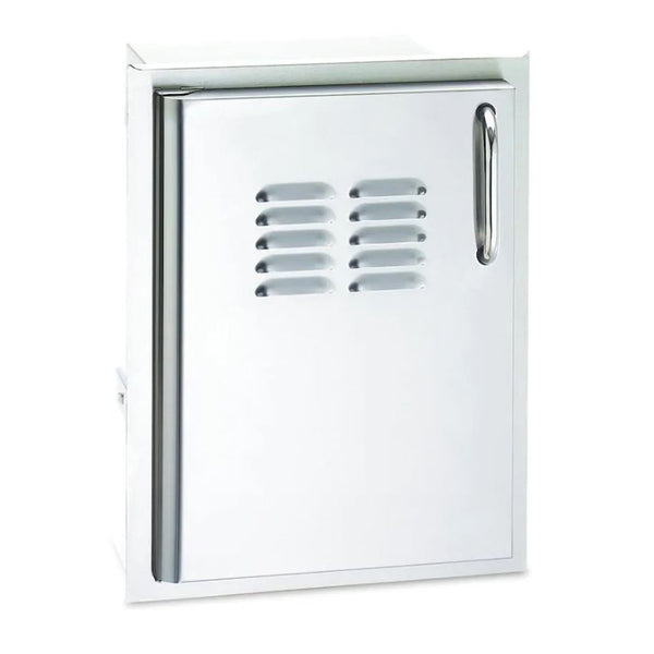 Fire Magic Select 14-Inch Single Access Door w/ Tank Tray & Louvers (Right Hinge) - 33820-TSL