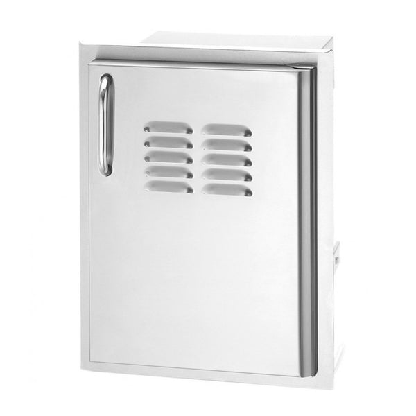 Fire Magic Select 14-Inch Single Access Door w/ Louvers (Right Hinge) - 33920-1-SR