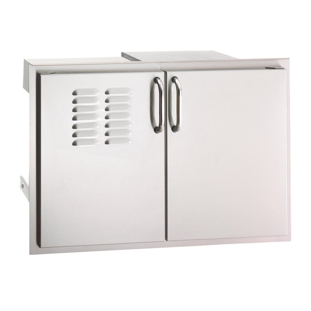 Fire Magic Select 30-Inch Double Access Doors w/ Propane Tank Tray & Dual Drawers - 33930S-12T