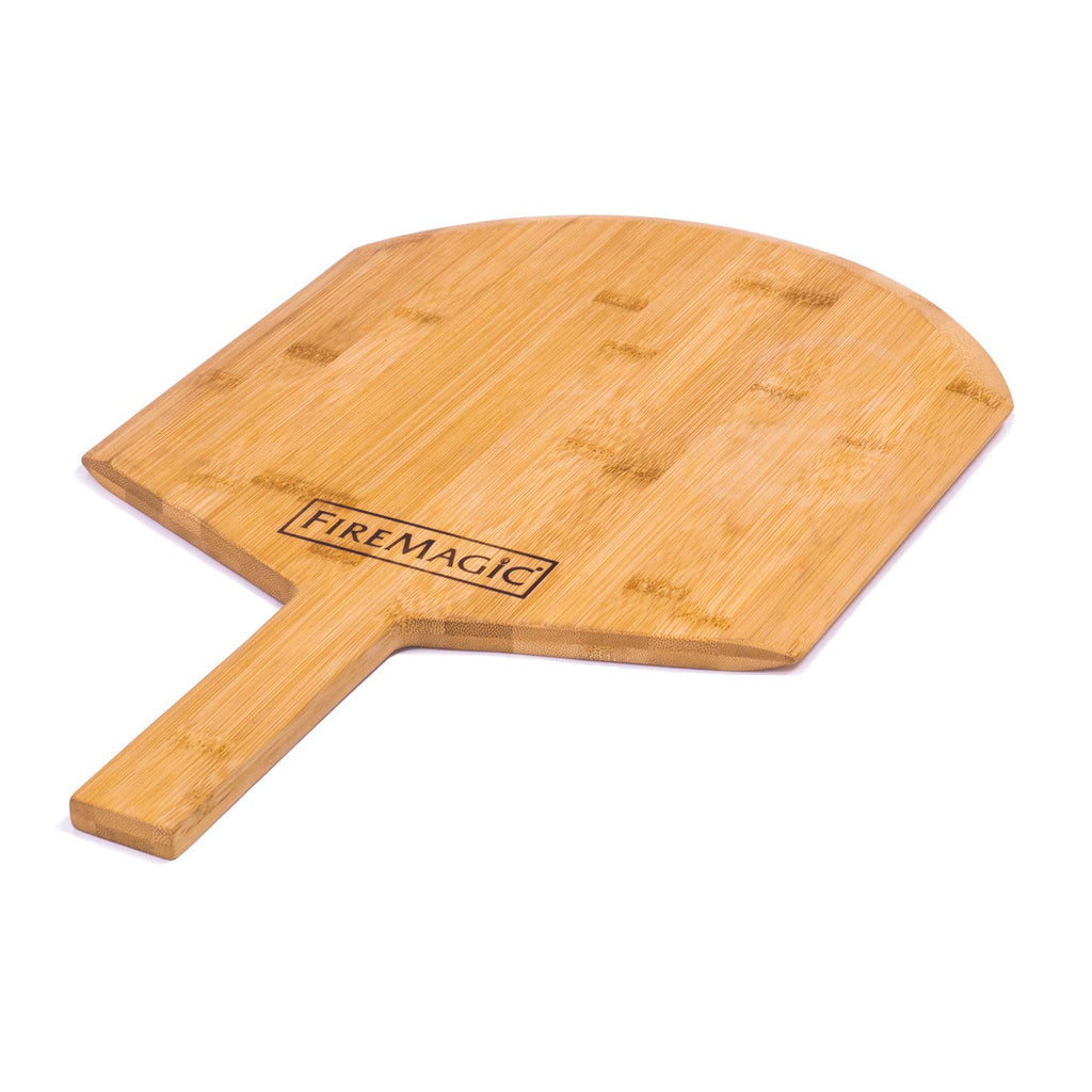 Fire Magic Pizza Stone Kit w/ Wood Pizza Peel - 3514