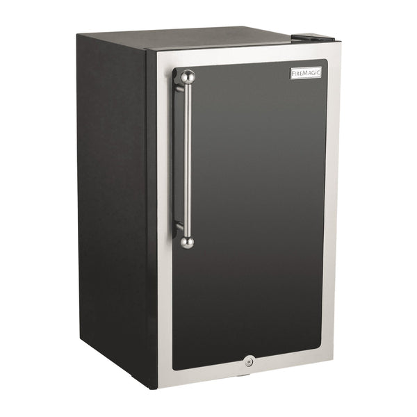 Fire Magic Echelon Black Diamond 20-Inch Outdoor Rated Refrigerator (Right Hinge) - 3598H-DR