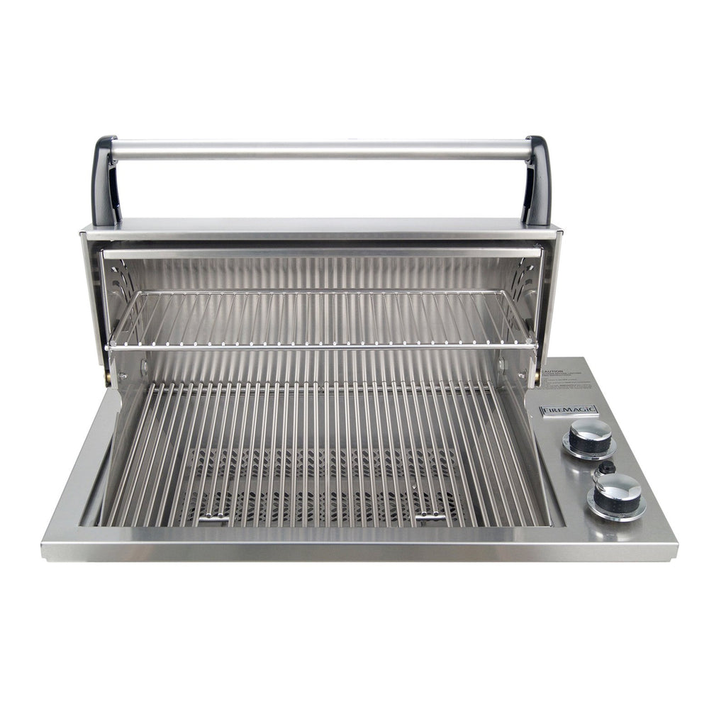 Fire Magic Legacy Deluxe Gourmet 23-Inch Natural Gas Drop-In Counter Top Grill - 3C-S1S1N-A