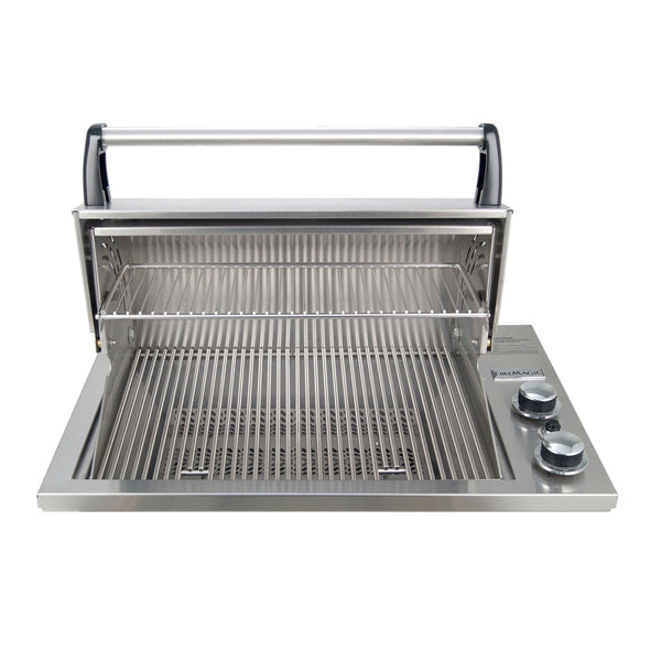 Fire Magic Legacy Deluxe Gourmet 23-Inch Propane Gas Drop-In Counter Top Grill - 3C-S1S1P-A