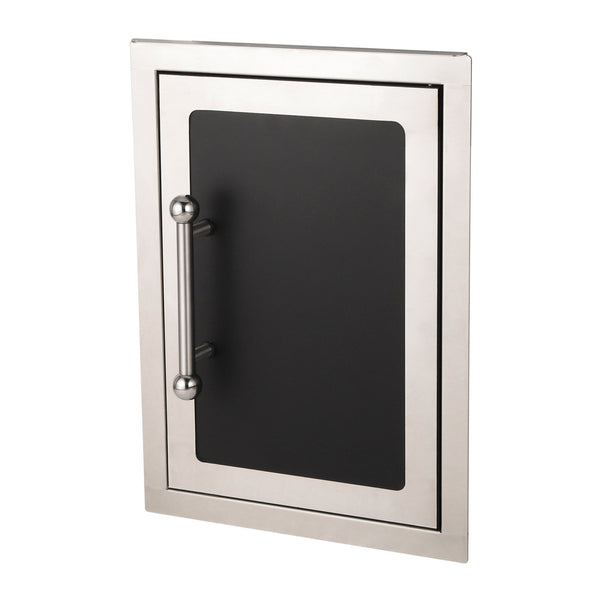 Fire Magic Black Diamond 14-Inch Single Access Door (Soft Close, Right Hinge) - 53920HSC-R