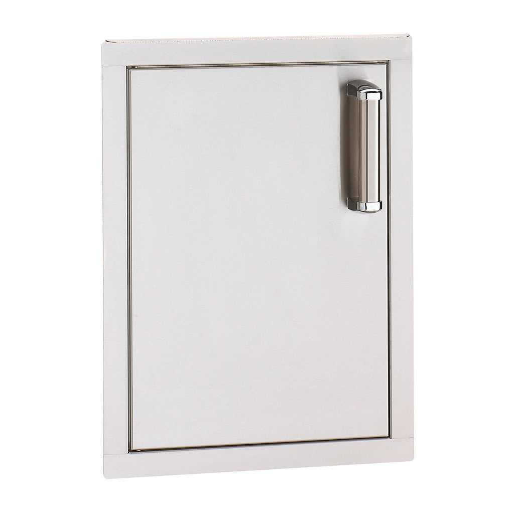 Fire Magic Premium Flush 14-Inch Vertical Single Access Door (Soft Close, Left Hinge) - 53920SC-L
