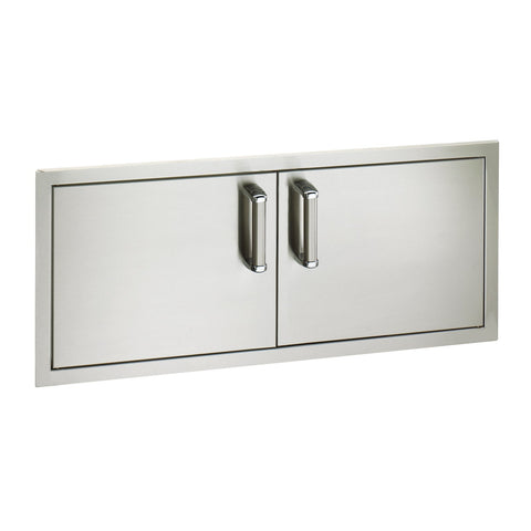 Fire Magic Premium Flush 40-Inch Reduced Height Double Access Doors (Soft Close) - 53938SC