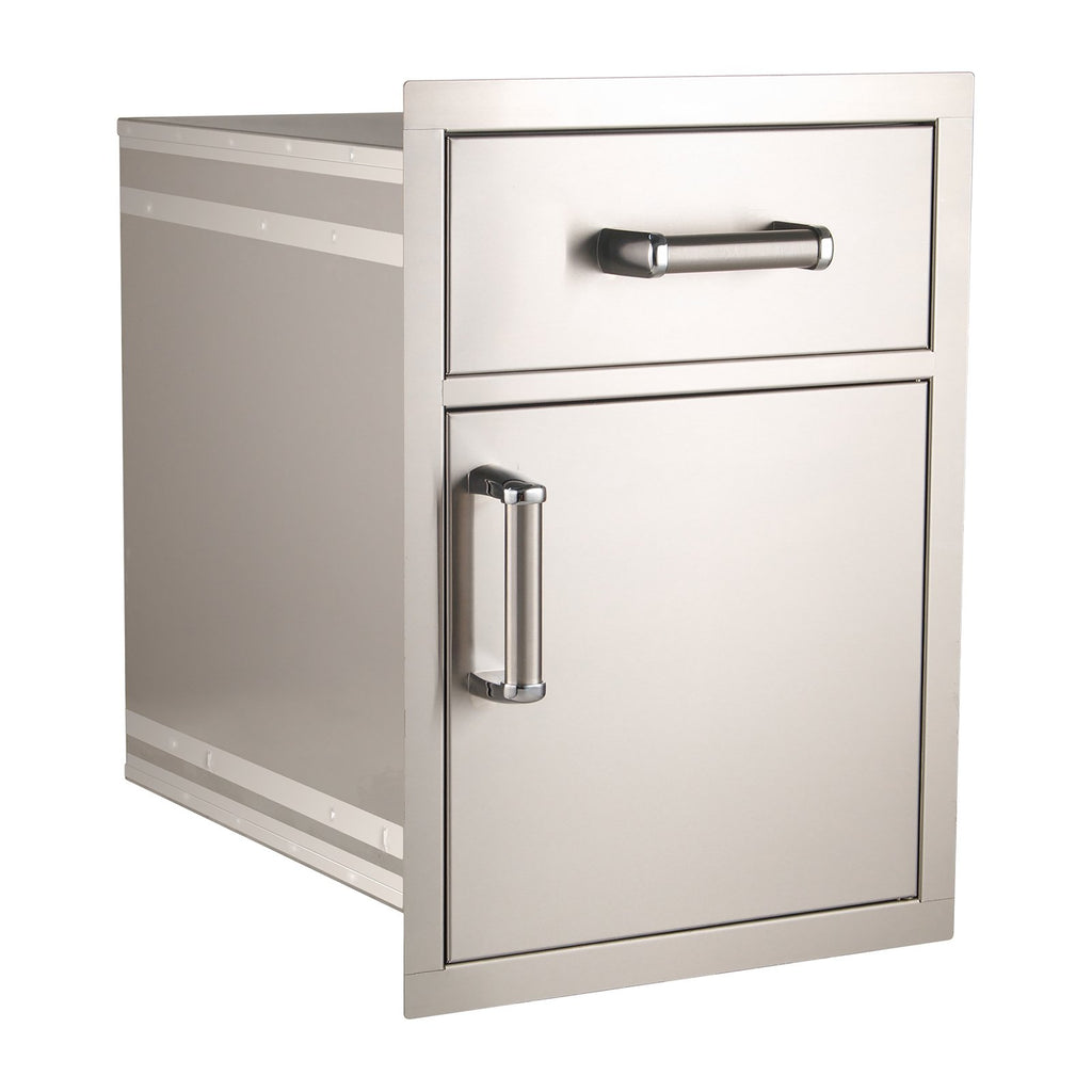 Fire Magic Premium Flush 17-Inch Pantry Door and Drawer Combo (Soft Close) - 54018S