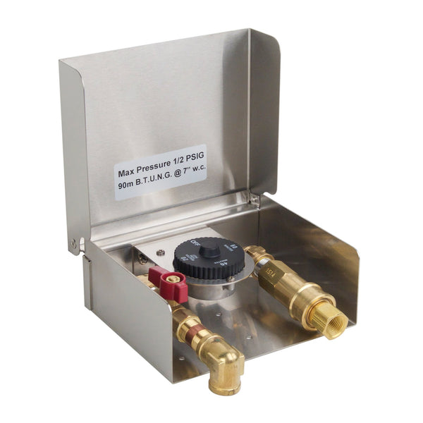 Fire Magic Gas Connection Box w/ 1-Hour Timer & Quick Disconnect - 5520-01T