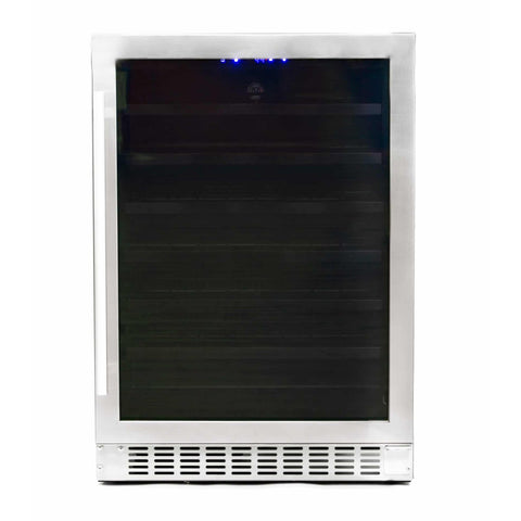 Azure 24-Inch Wine Center w/ Stainless Steel Trim Glass Door - A224WC-S