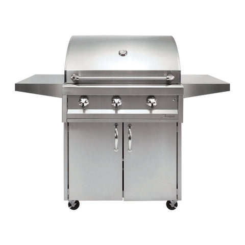 Artisan American Eagle 32-Inch Natural Gas Freestanding Grill - AAEP-32C-NG