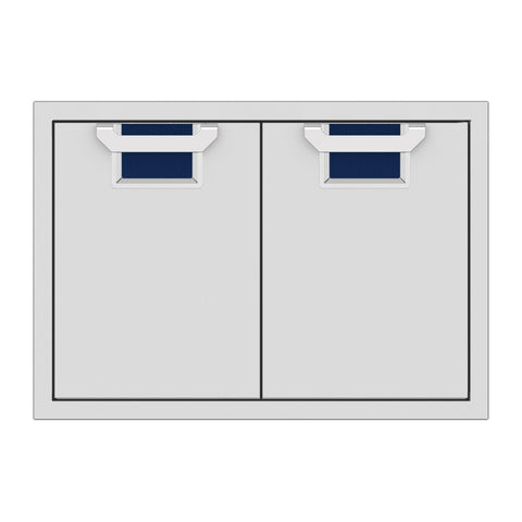 Aspire by Hestan 30-Inch Double Access Doors (Orion Dark Blue) - AEAD30-DB
