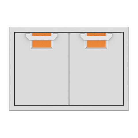 Aspire by Hestan 30-Inch Double Access Doors (Citra Orange) - AEAD30-OR