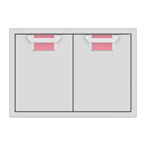 Aspire by Hestan 30-Inch Double Access Doors (Reef Pink) - AEAD30-PK
