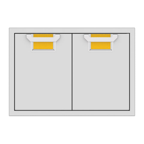 Aspire by Hestan 30-Inch Double Access Doors (Sol Yellow) - AEAD30-YW
