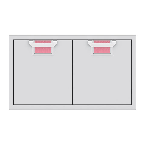 Aspire by Hestan 36-Inch Double Access Doors (Reef Pink) - AEAD36-PK