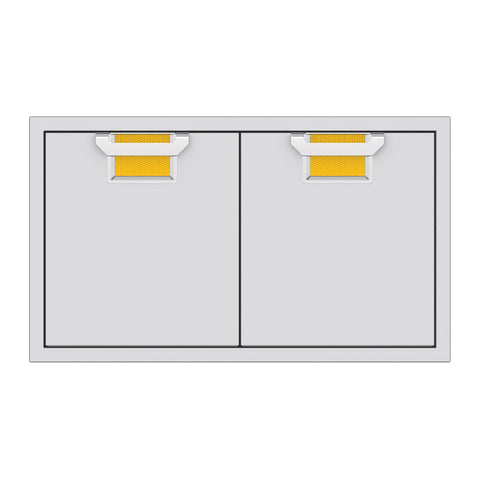 Aspire by Hestan 36-Inch Double Access Doors (Sol Yellow) - AEAD36-YW